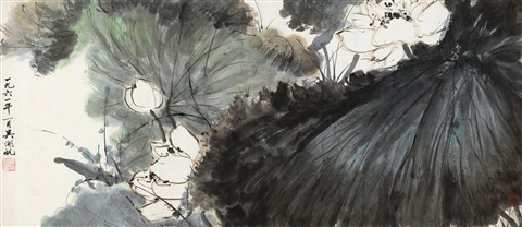 荷香清远 (lotus) by wu hufan