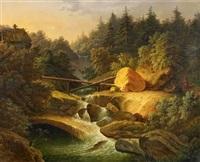 gebirgsbach by matthias rudolf toma