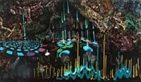 drypmalingshule (drip painting cave) by jonas pihl
