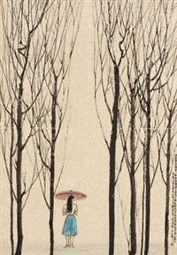 唐人诗意 by han wu