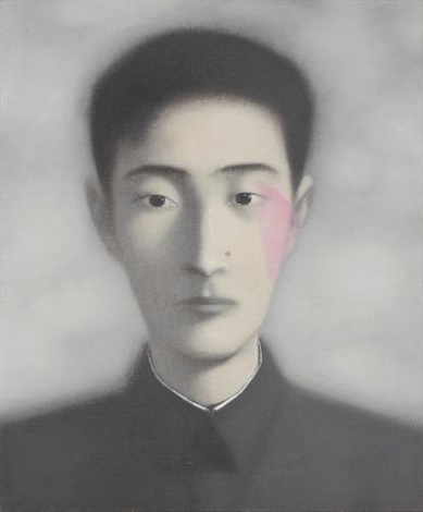 bloodline series by zhang xiaogang