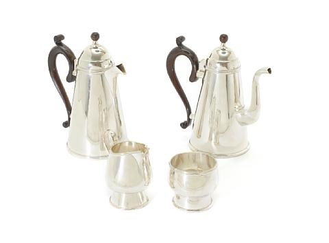 coffee service set of 4 by michael rafter