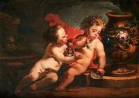 allegorical scene by jacob de wit