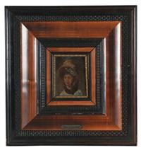 kvinneportrett by vincent stoltenberg-lerche