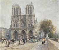 notre-dame de paris by georges dominique rouault