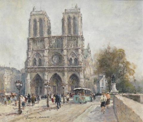notre dame de paris by georges dominique rouault