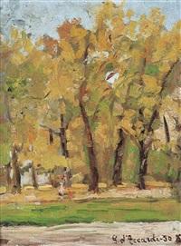 autunno ai giardini by gianrodolfo d'accardi