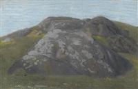 les monts sur salvan by jean philippe edouard robert