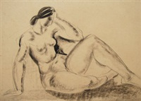 nude (study) (+ others) by franklyn rogers