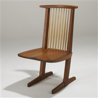 conoid host chair by mira nakashima-yarnall