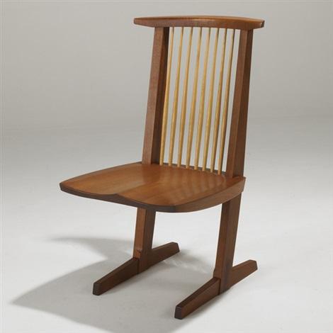 conoid host chair by mira nakashima yarnall
