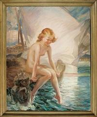 the little mermaid by oskar gross