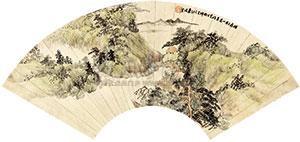 青绿山水 by xiao junxian
