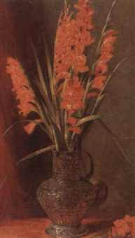gladioli by george reid