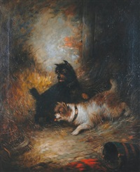 two terriers by george armfield