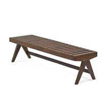 bench from the chandigarh administrative buildings by pierre jeanneret