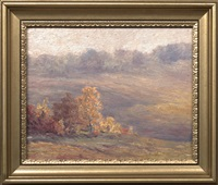 country landscapes (+ 4 others; set of 5) by walter hubert emery