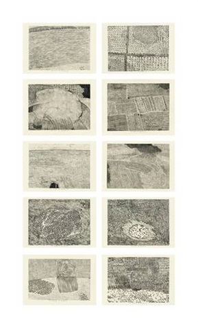 from five series of repetitions 10 works by xu bing