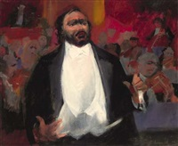 pavarotti by frank archer