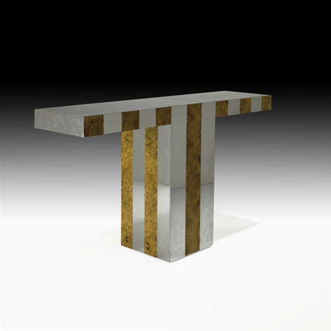 cityscape console table by paul evans