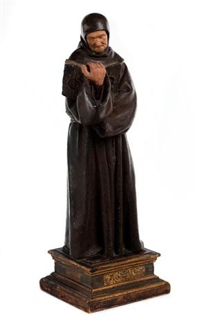 standfigur des heiligen bernhardin by niccolo dell arco
