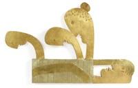 väggrelief batalj - fyra huvuden by stig lingberg and eje oberg