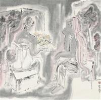 静思 (figure) by ji jingning
