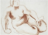 study for terracotta by frank dobson