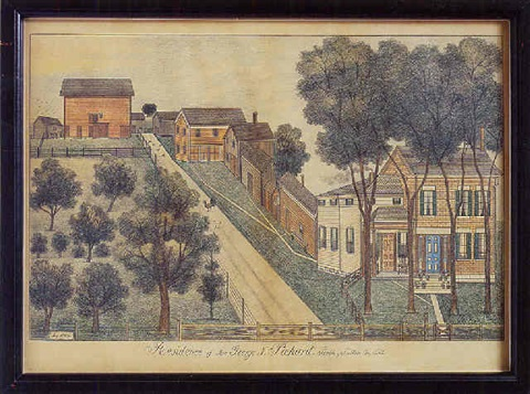 residence of mrs george n pickard perth fulton county new york by fritz g vogt