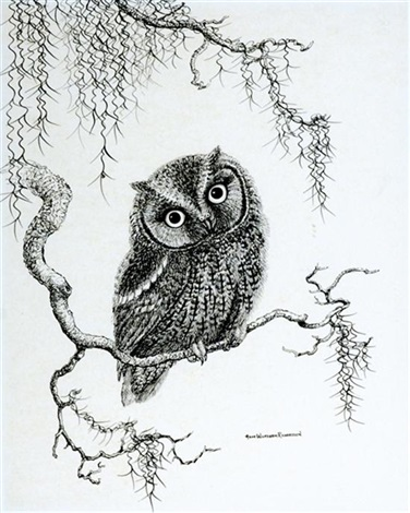owlbert barn owl by anne worsham richardson