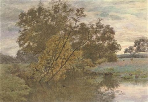 a summer evening by wilmot pilsbury