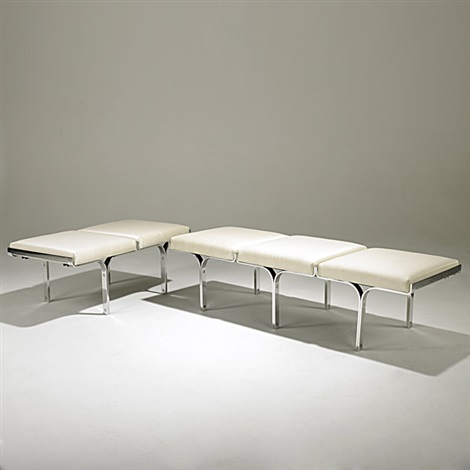 three seat bench two seat bench smllr 2 pieces by j behringer