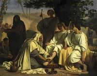 abraham und die drei engel by felix fossey