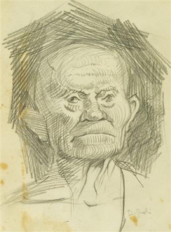 ritratto di uomo by domenico gnoli