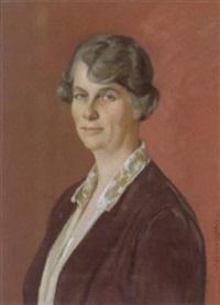 porträt einer dame by ottilie w. roederstein