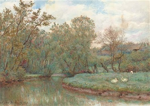 the bend of the stream by wilmot pilsbury