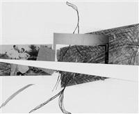 ohne titel (ideenskizze zu rauminstallation) by jessica stockholder