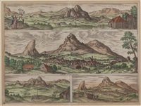 stadt archidona bei malaga, spanien by joris (george) hoefnagel
