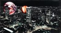 air-port-city planetarium by tomas saraceno