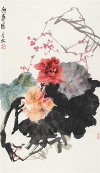 迎春图 by feng jinsong