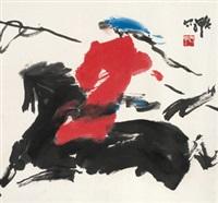 套马图 镜心 纸本 by jia haoyi