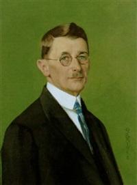 porträt eines herrn by ottilie w. roederstein