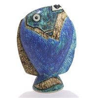 figurine in shape of a fish by peter stengade