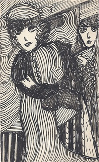 two women by madge gill