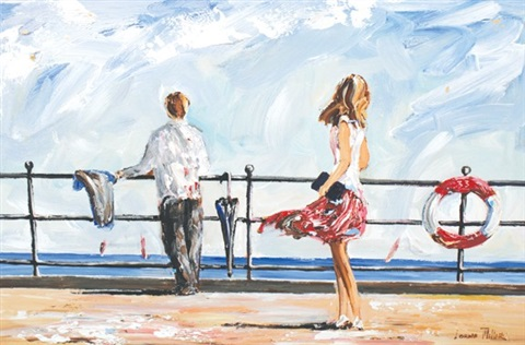 looking out to sea by lorna millar
