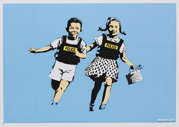 jack und jill by banksy