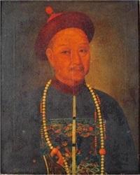 清朝官员肖像 by lin guan