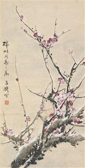 plum blossom by wang xuetao