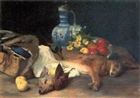 jagdstilleben by hermann von glass