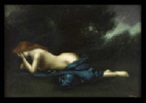 prone nude by jean jacques henner